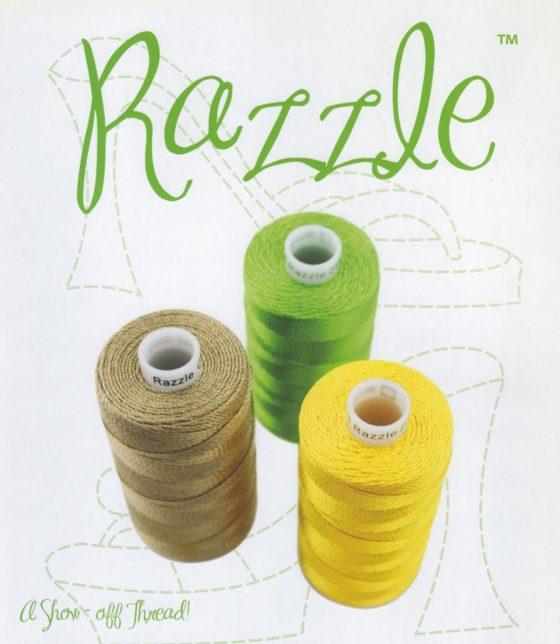 1 st Razzle Färgkarta
