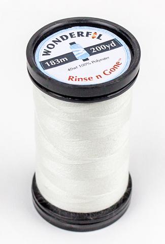 Wonderfil Rinse 'n Gone, vannløselig tråd
