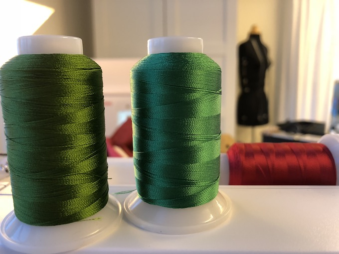 Wonderfil grønne tråder
