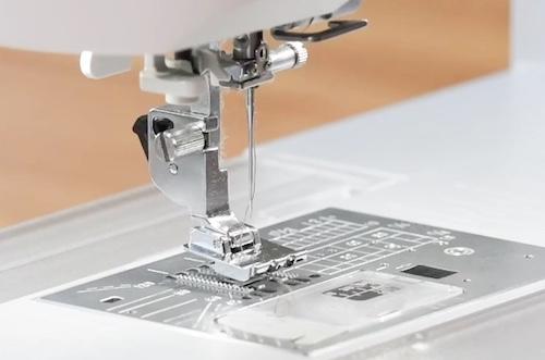 trykkfot symaskin stingplate
