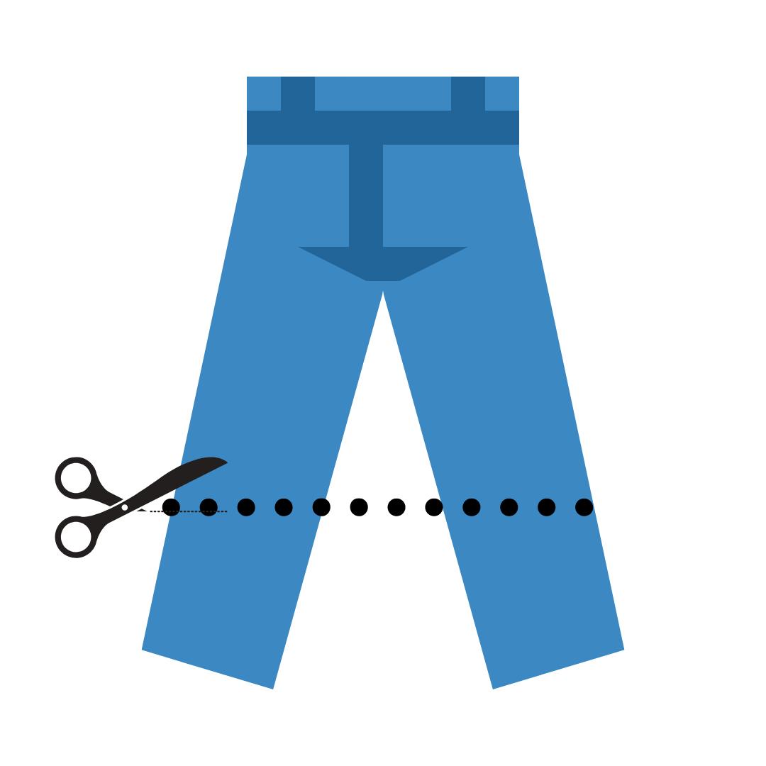 saks klipp jeans redesign