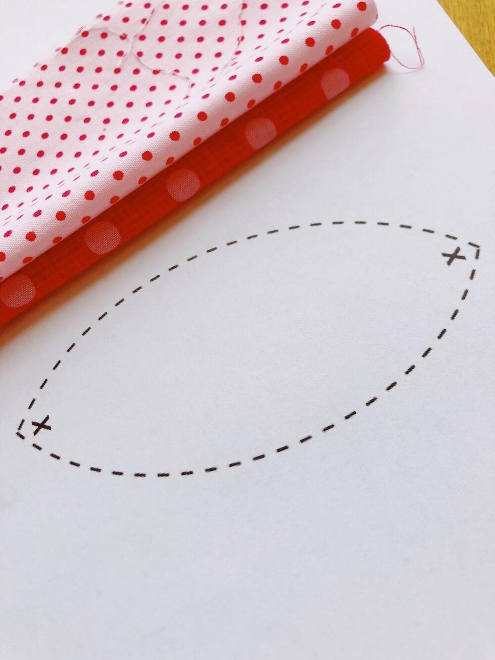 skriv ut mønster egg påske diy