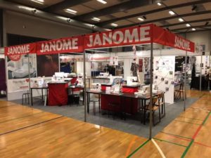 messe i Middelfart sy workshop symaskiner janomer