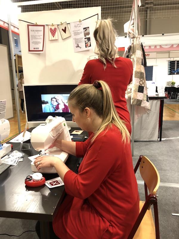 workshop postkort Elna Janome symaskiner kampanje
