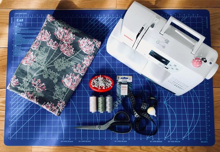 tilbehør skjærematte symaskin janome tråd