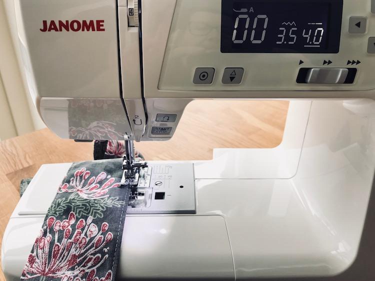 knytebånd kimono Janome sy diy