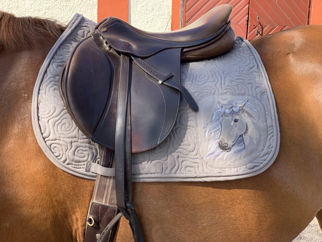 quilt sjabrak hest tilbehør sy